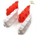 Absperrung rot/weiß Kunststoff 1:10 1:14