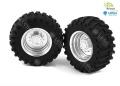 LESU 1:16 Traktor-Felgen vorne 1 Paar