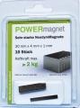 Quadermagnet 30 x 4 x 1 mm Inhalt 10 Stück im Blister