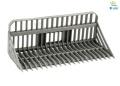 LESU 1:14 Siebschaufel aus Metall für Kompaktlader