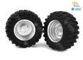 LESU 1:16 Traktor-Felgen hinten 1 Paar