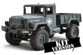 CR4 Militär LKW EP 1/16 KIT / Baukasten - 4WD (grau)